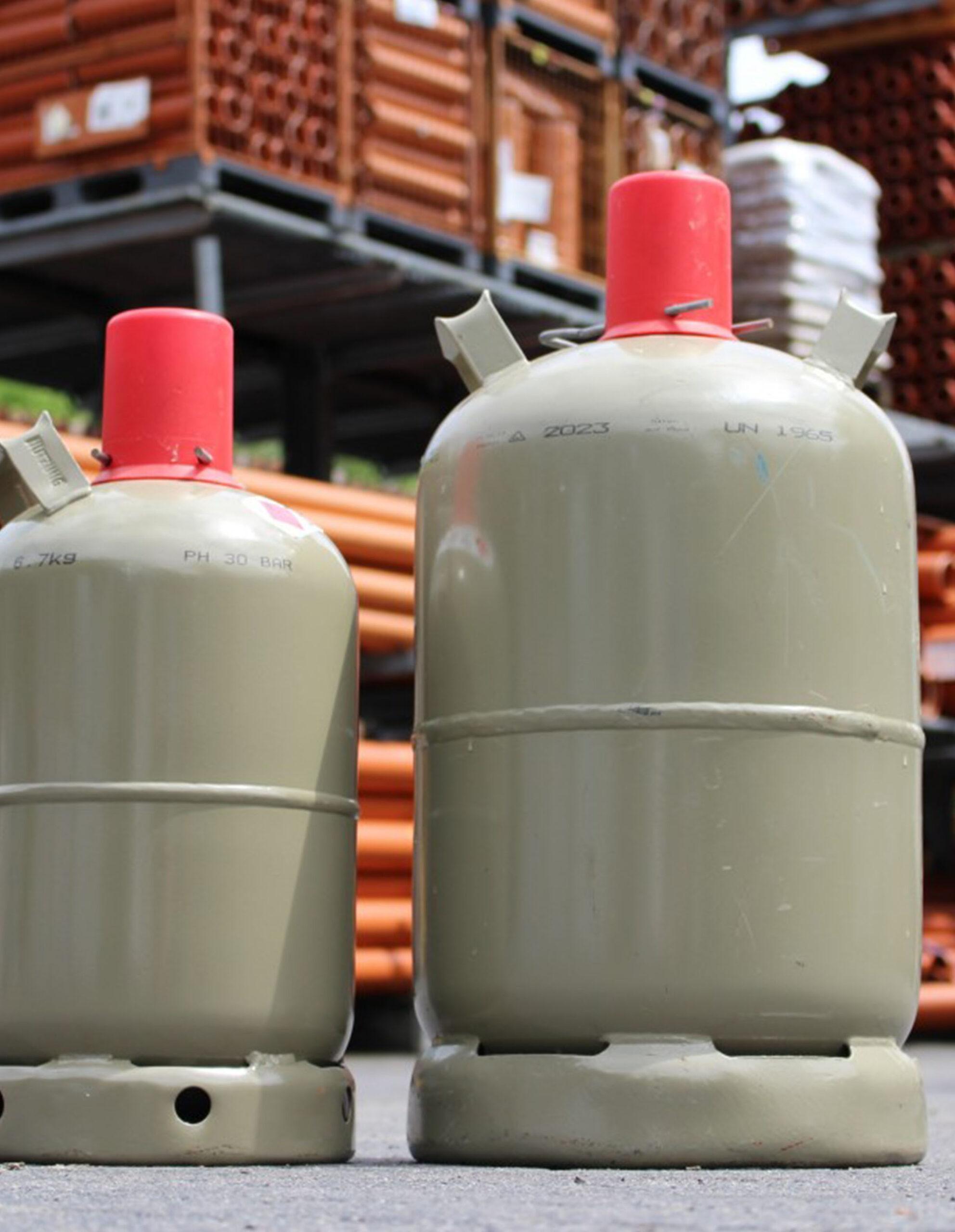 Veiligheid rond gascilinders
